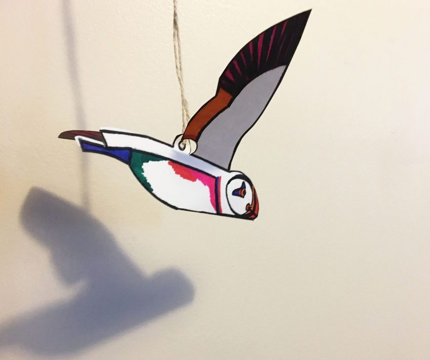 Puffin craft