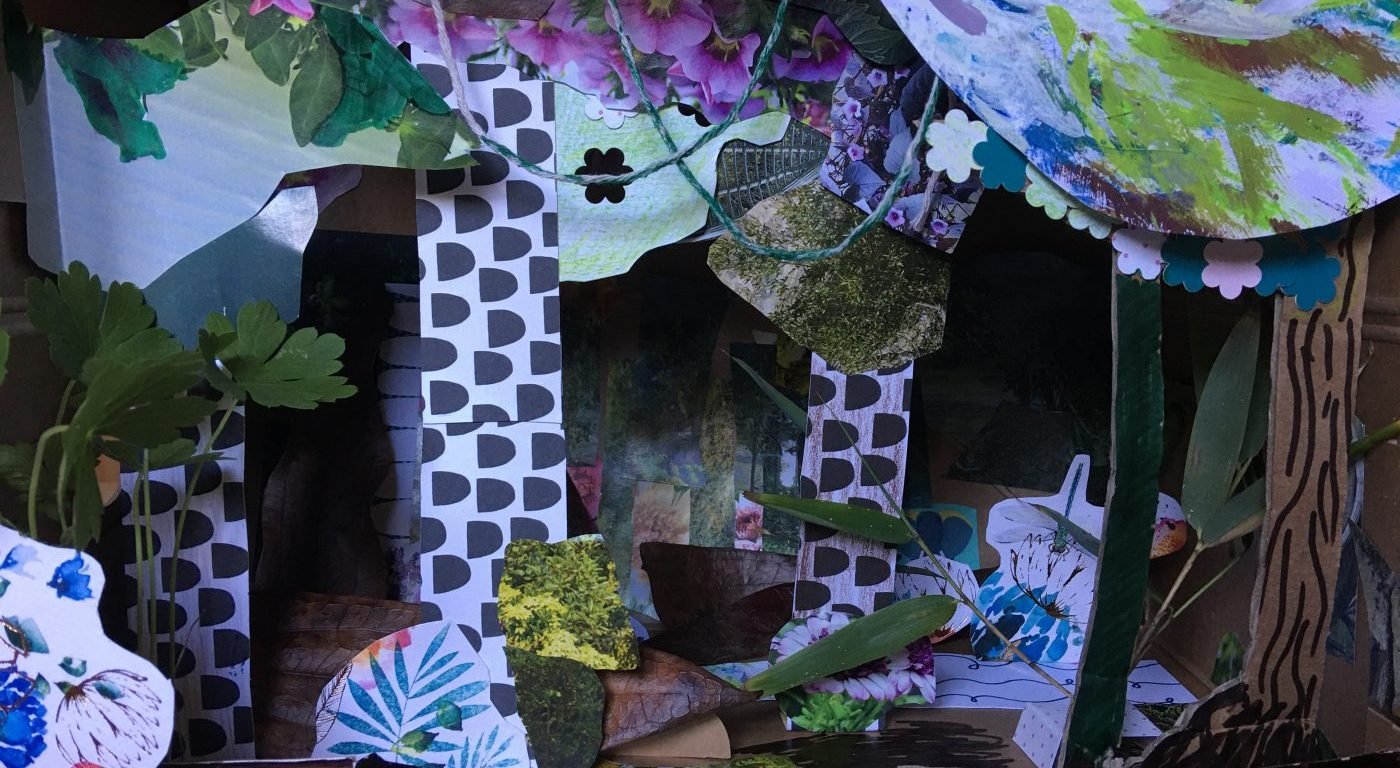paper craft rainforest
