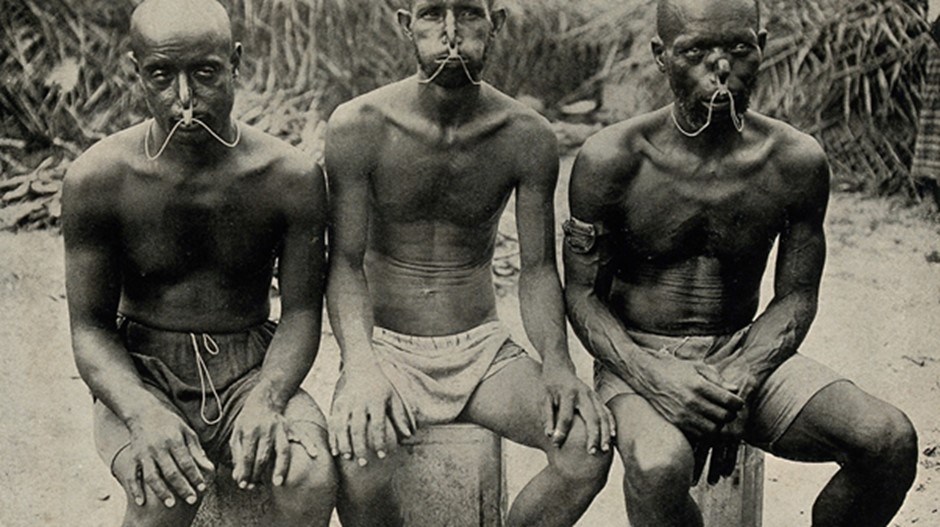 Pearl divers from the Persian Gulf